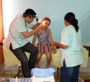 people at Fundacion Totai Health Centre