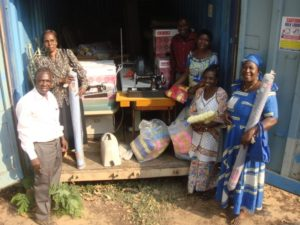 People at Living Word School, Lubumbashi