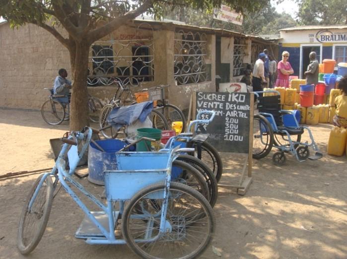 wheelchairs in Lubumbashi