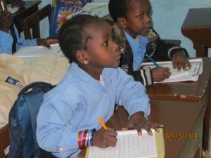 children at school in Egypt