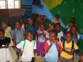 children in Mozambique