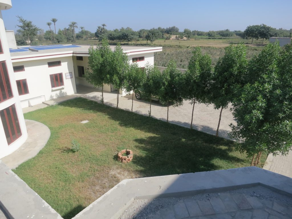 medical and training centre, Pakistan
