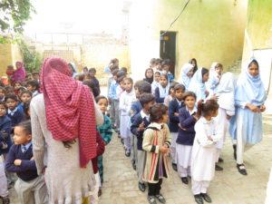 school classes in Pakistan