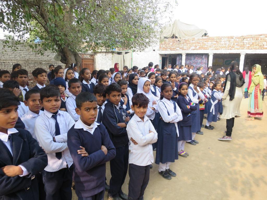 children at school in Pakistan