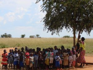 pupils at school in Uganda