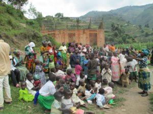 Pygmy people in Uganda