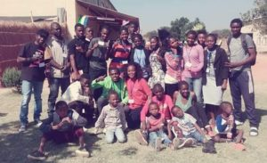 adults and children in Zambia